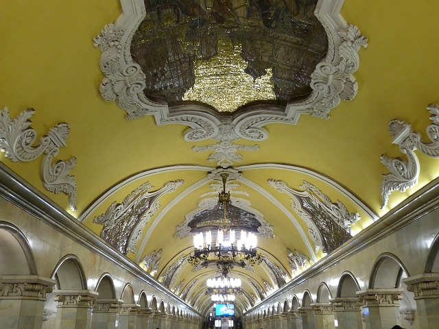 Station Komsomolskaya; from: pixabay falco