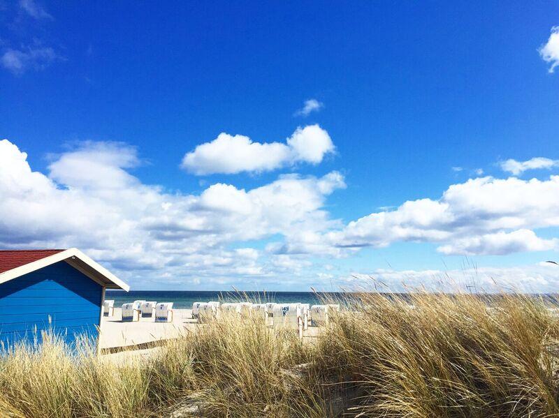 Der Strand in Grömitz