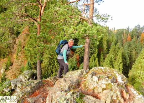 1500_Alex wandert auf dem Schluchtensteig, Schwarzwald