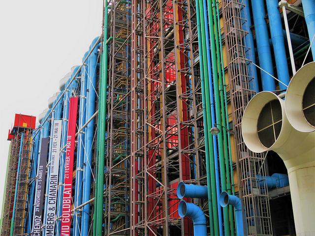 Centre Pompidou (Retrieved from Flickr - Arthur Weidmann)