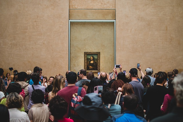 Mona Lisa im Musée du Louvre (Retrieved from Pixabay - Foundry)