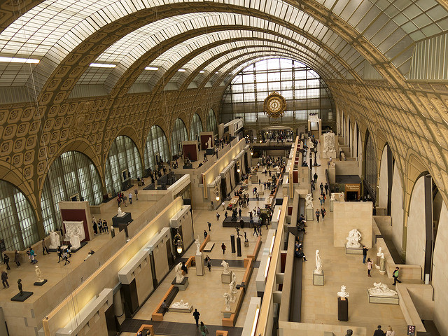 Musée d'Orsay von innen (Retrieved from Flickr - Mika LaMonaca)