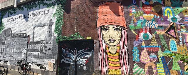 Streetart in Köln (Retrieved from Pixabay - Be_a)