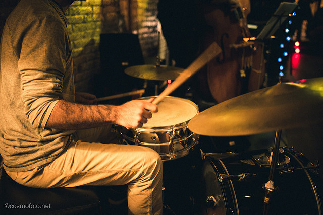 Jazzgruppe in Barcelona (Retrieved from Flickr -cosmo_71)