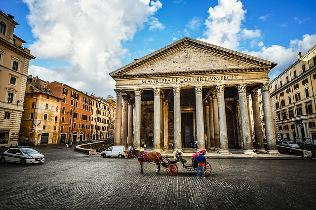 Pantheon (Retrieved from Pixabay - kirkandmimi)