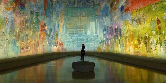Musée d'art moderne (Retrieved from Pixabay - Hermann)