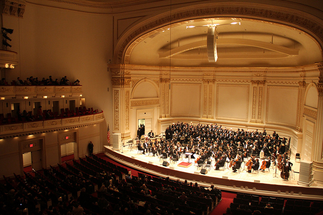 Carnegie Hall (Retrieved from Flickr - Ching)