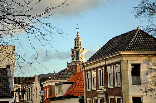 Spitze der Oude Kerk (Retrieved from Flickr - FaceMePLS)