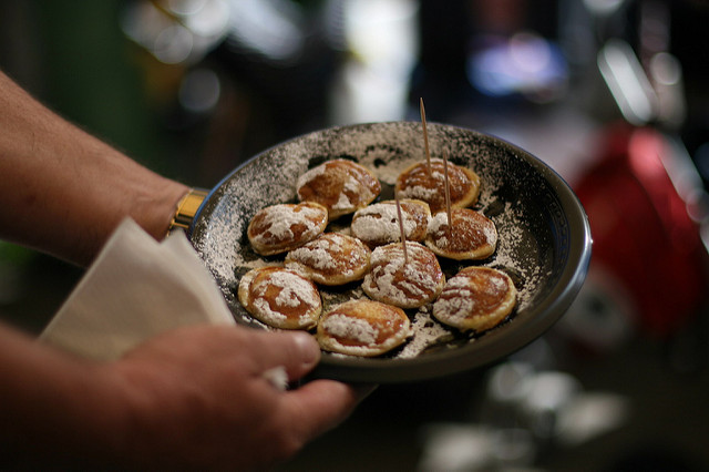 Poffertjes (Retrieved from Flickr - Glen MacLarty)