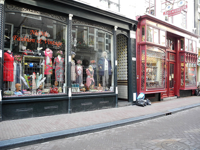 Vintage Shops in Amsterdam (Retrieved from Flickr - Ilana)