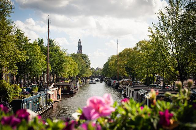 Prinsengracht (Retrieved from Flickr - Mr. Amsterdam)