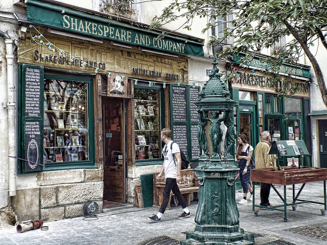 Shakespeare and Company (Retrieved from Flickr - esartee)