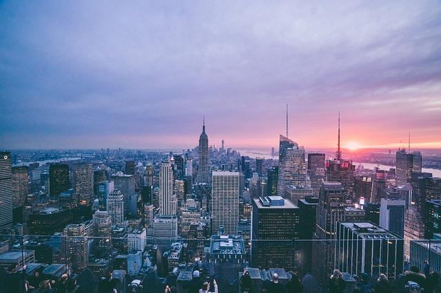 Blick über Manhattan (Retrieved from Pixabay - Free-Photos)