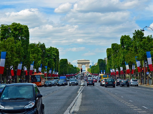 Champs Elysées (Retrieved from Pixabay - smellypumpy)