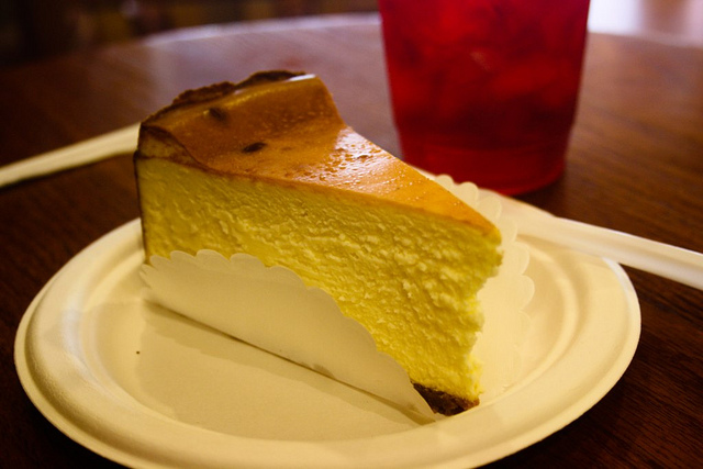 New York Cheesecake (Retrieved from Flickr - tanyalazar)