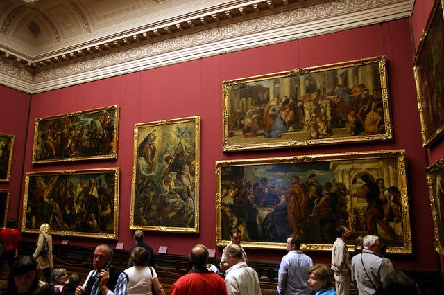 Gemäldegalerie Alte Meister (Retrieved from Pixabay - Allie_Caulfield)