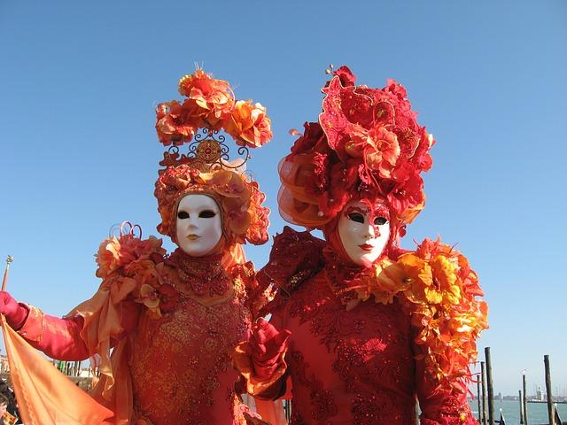 Karneval in Venedig (Retrieved from Pixabay - Dans3)