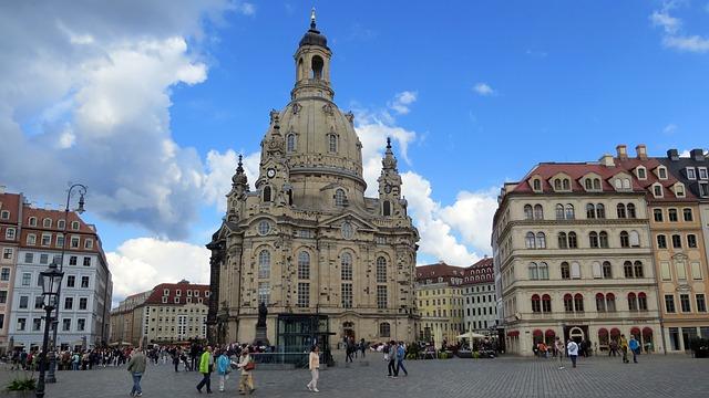 Frauenkirche in Dresden (Retrieved from Pixabay - Dieter_G)