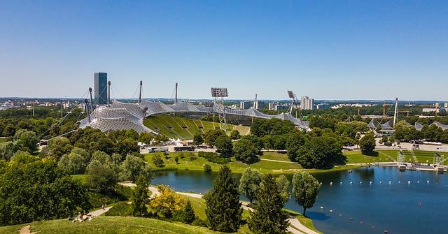 Olympiapark (retrieved from Pixabay - Divily)