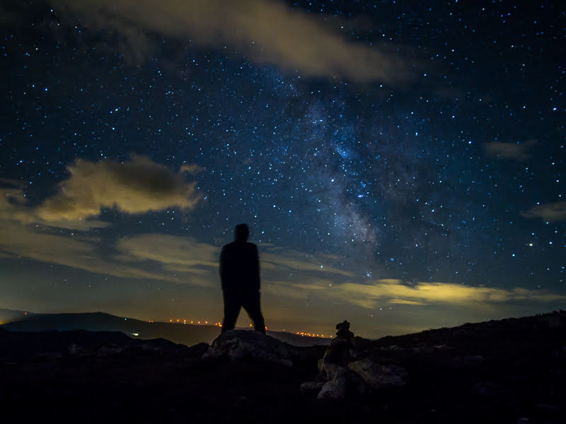 Sternenhimmel Rax