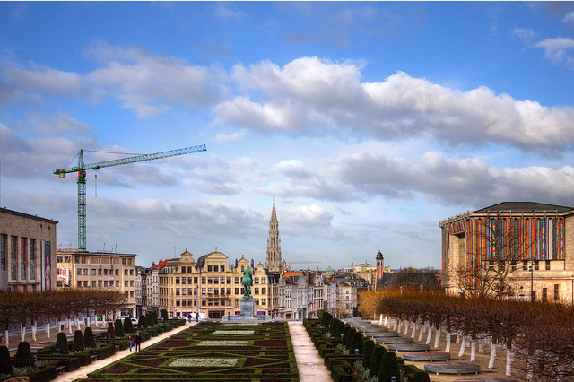 Mont des Arts (retrieved from: flickr - Roberto Cacho Toca)