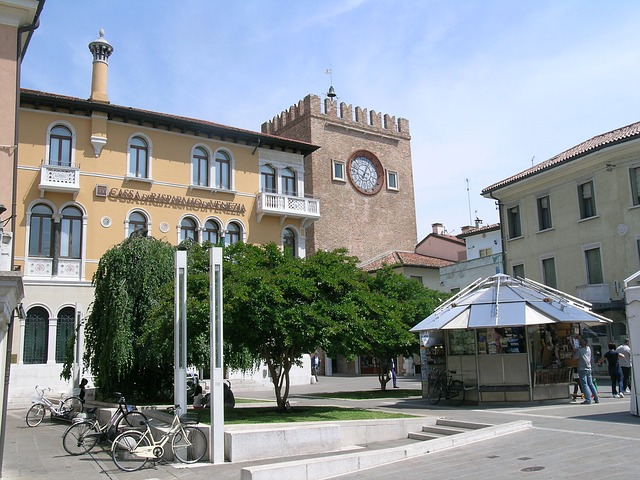 Stadtzentrum in Mestre (retrieved from Pixabay - sferrario1968)