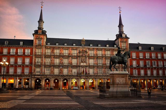 Plaza Mayor (retrieved from: flickr - Jocelyn Erskine-Kellie)
