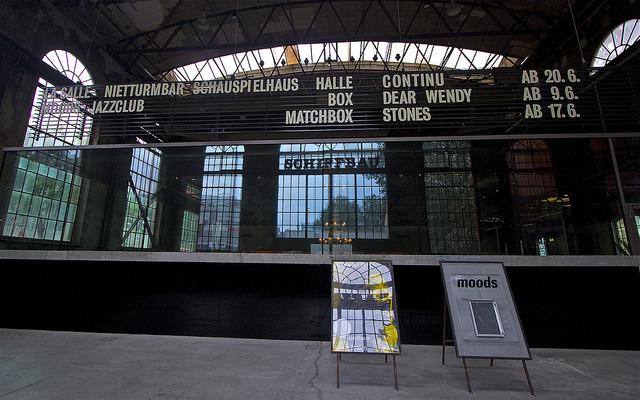 Eingangsbereich Schiffsbaufabrik