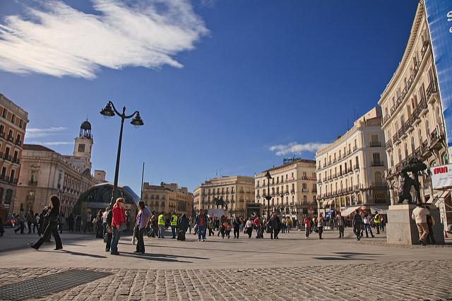 Puerto del Sol, rechts im Bild sieht man den Braunbär (retrieved from: flickr - Tomás Fano)