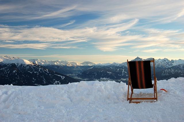 Alpenpanorama, Schnee