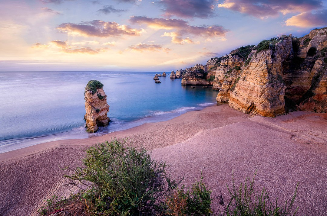 Praia Dona Ana in Lagos an der Algarve