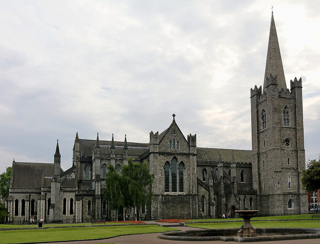 St Patrick's Cathedral (retrieved from: flickr - Robert Linsdell)