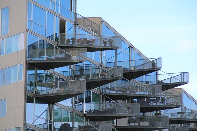 futuristische Gebäude