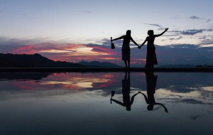 Melissa und Petra verbindet Freundschaft und die Liebe zu Indonesien