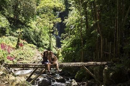 Wasserfall Hopping auf Bali